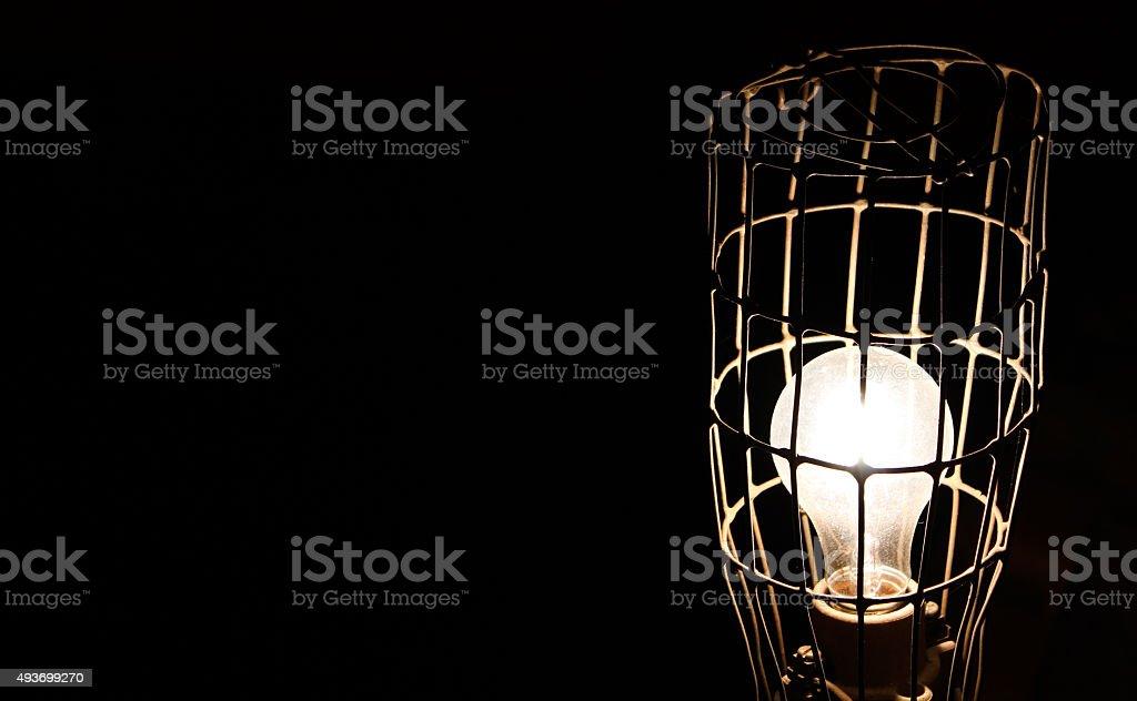 An imprisoned idea stock photo