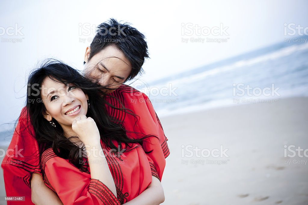 An in love young couple royalty-free stock photo