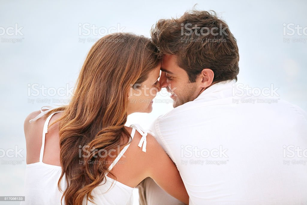 An intimate moment - Love & Romance stock photo