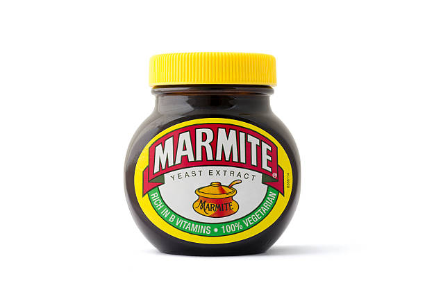 Eine isolierte jar of Marmite Hopfenextrakt machen – Foto