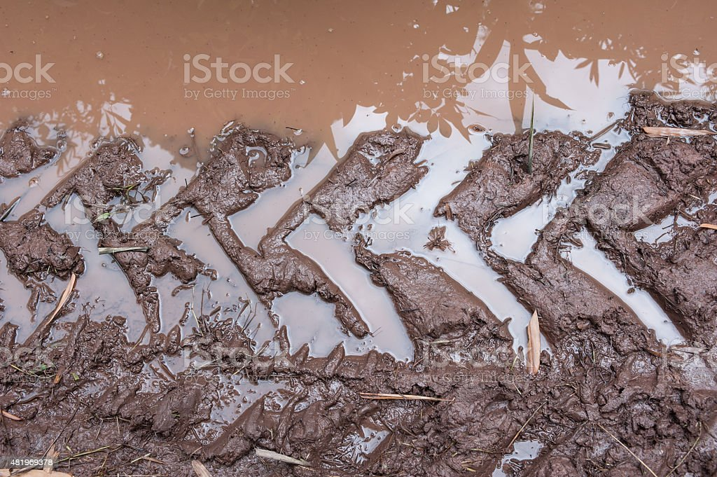 An offroad all terrain vehicle stock photo