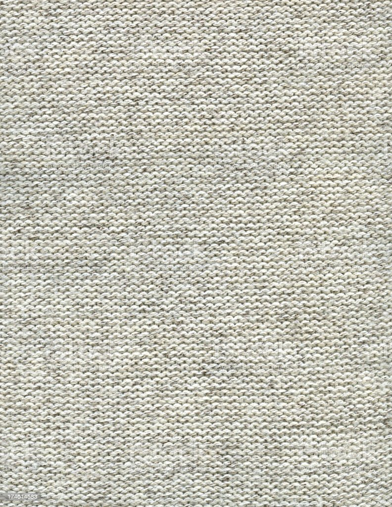 An off-white woolen fabric background royalty-free stock photo