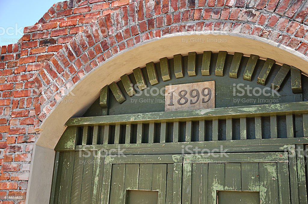 an old building stock photo