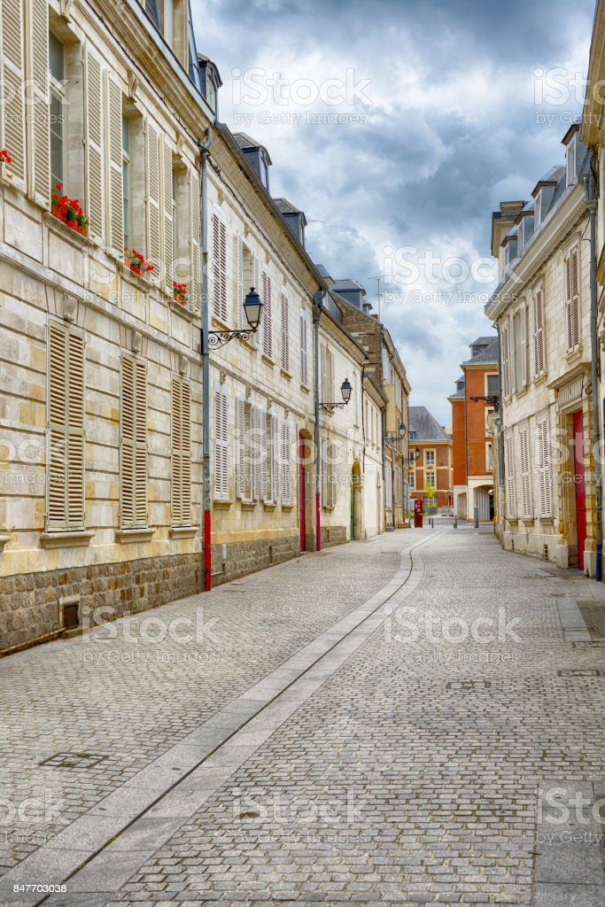 An old houses at Amiens - Royalty-free Amiens Foto de stock