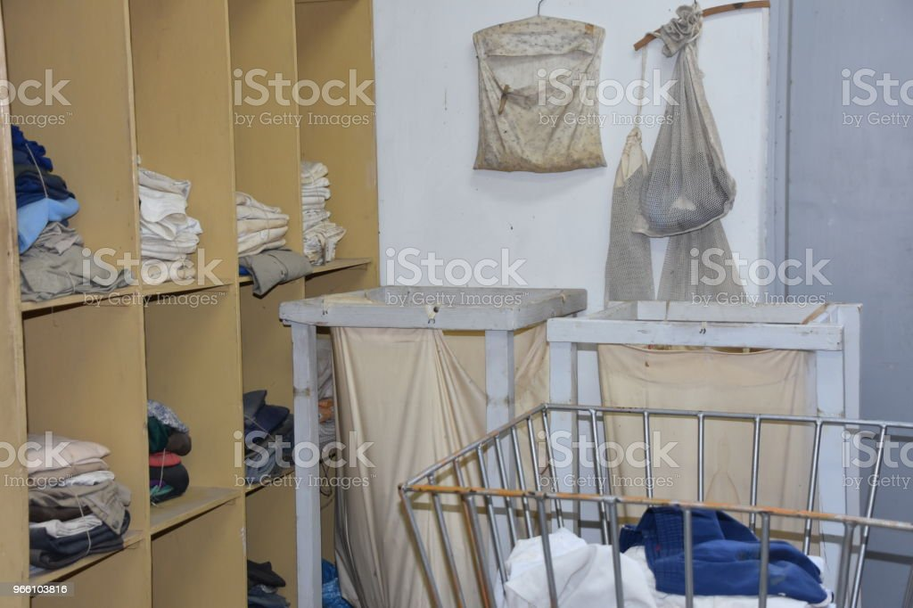 An old laundry - Royalty-free Assistance Stock Photo