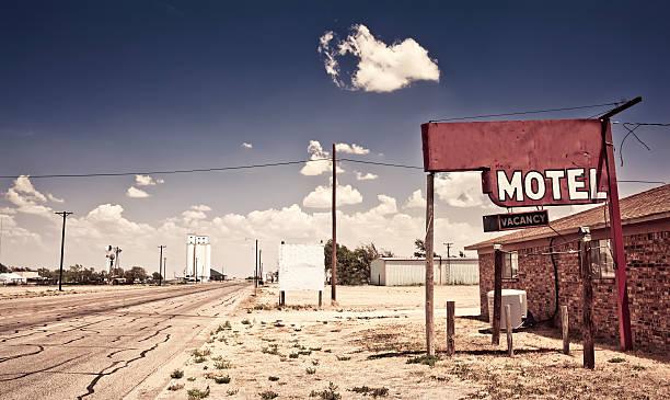 stary znak motel - motel zdjęcia i obrazy z banku zdjęć