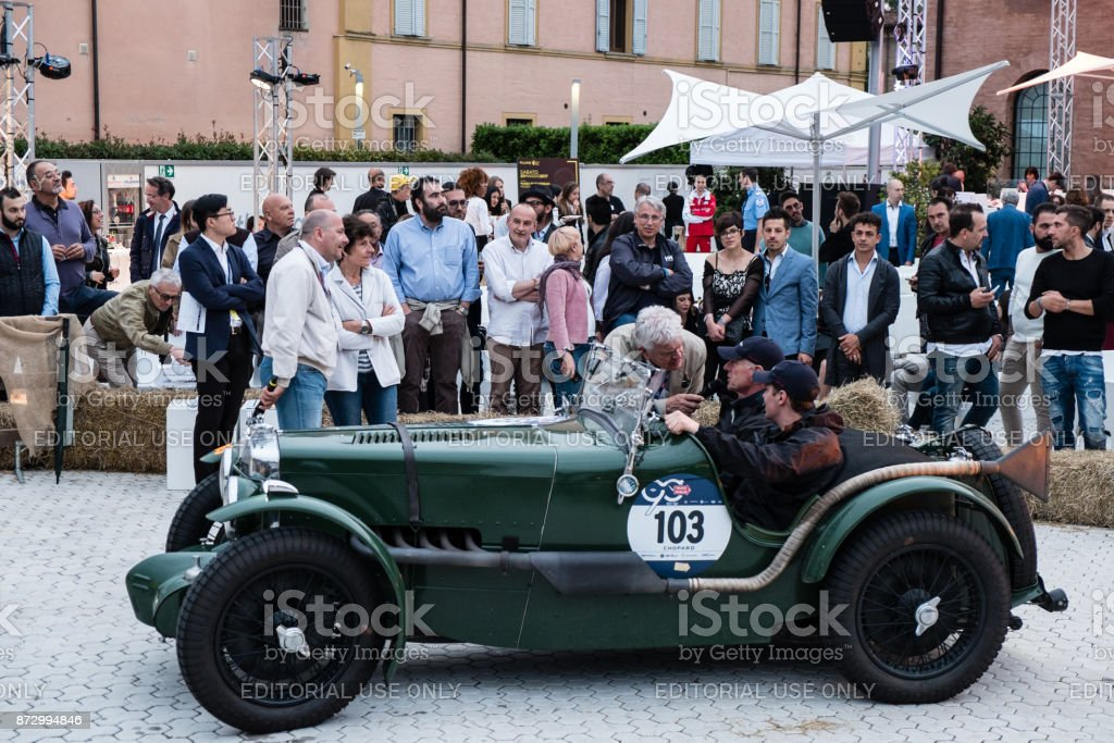 Mg K3 Magnette An Old Racing Car In Rally Mille Miglia 2017 The ...