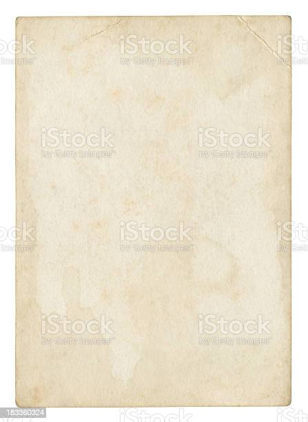 An old stained blank piece of beige paper picture id183360324?b=1&k=6&m=183360324&s=612x612&h=jemoyswze0n d8bprsfgwss589ujcgob1115fe05j1u=