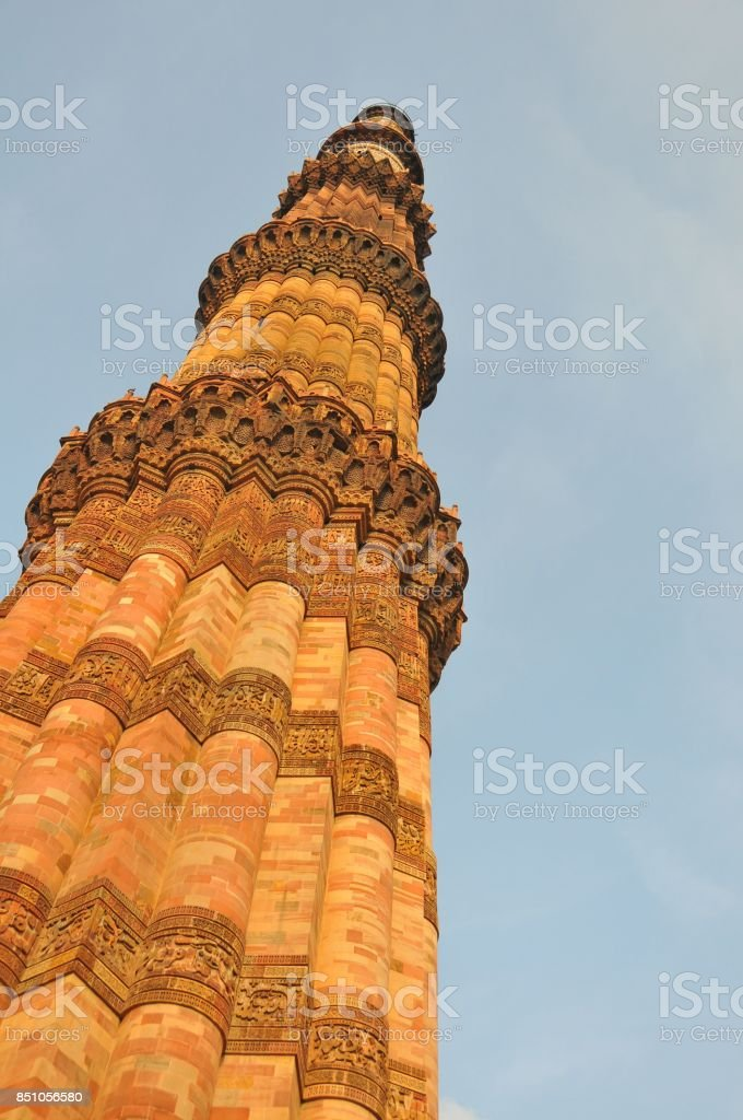An old tower in India stock photo
