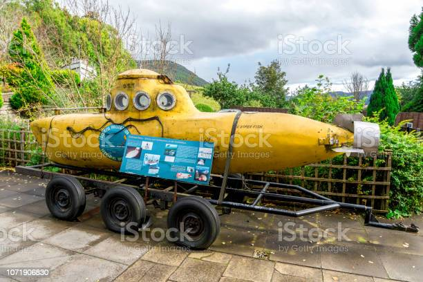 An old viperfish submarine at the entrance to loch ness visitor in picture id1071906830?b=1&k=6&m=1071906830&s=612x612&h=sgdnxa7ymr2u7mae omit  fdf9lbtoggyorez dqns=