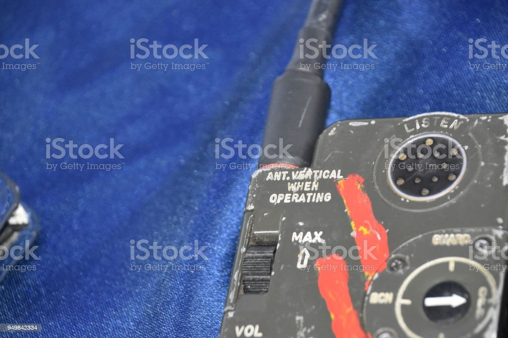 An Old Walkie Talkie Stock Photo More Pictures Of Analog Istock