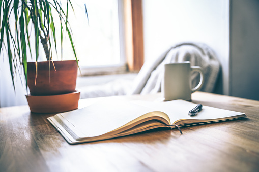 Self-care and mental health is vital, especially during difficult times. Taking a break to journal can help with stress.