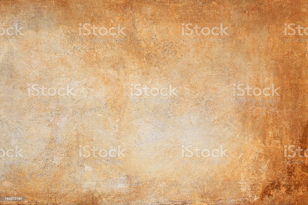 An orange and brown wall texture background stock photo