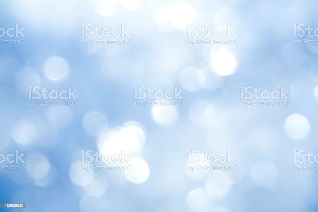 An out of focus background with sparkles all around stock photo