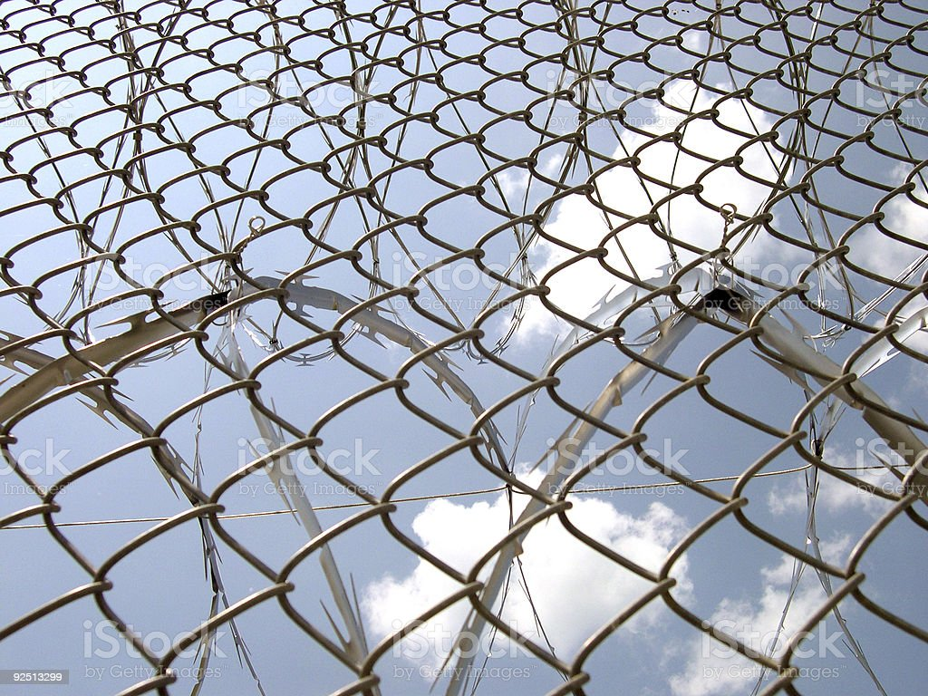 An Outlook on Incarceration royalty-free stock photo