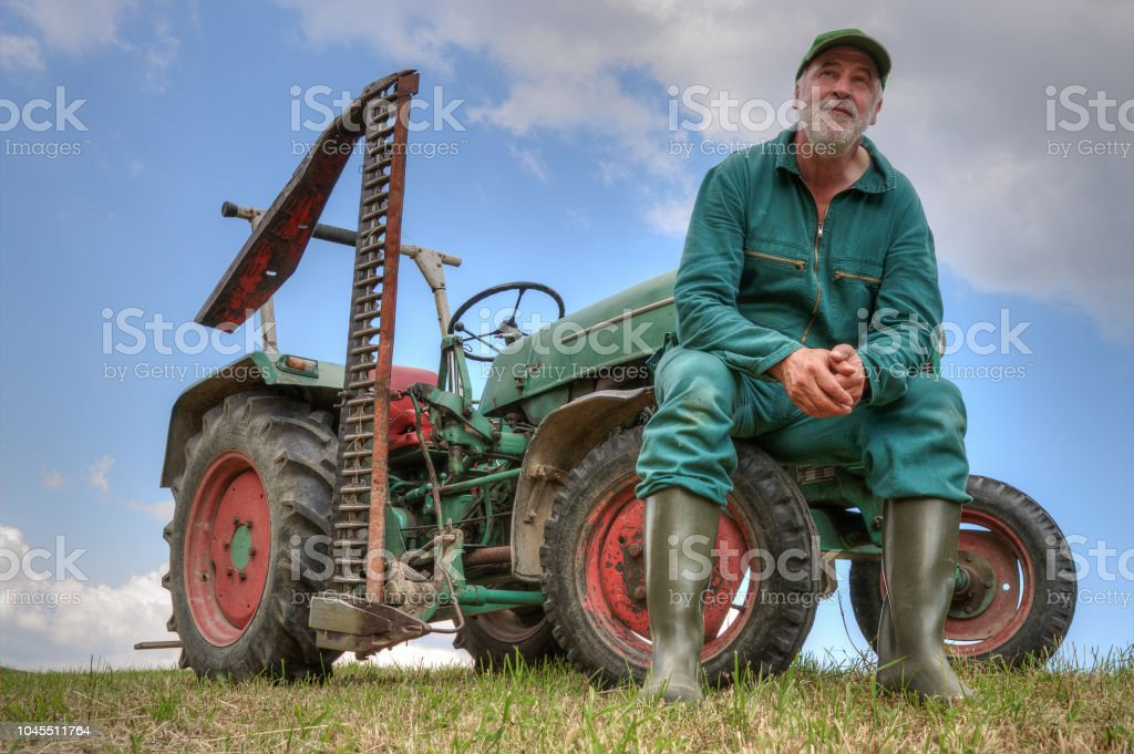 An uncertain future for small farmers - Royalty-free Adult Stock Photo