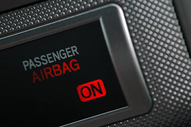 Airbag auf – Foto