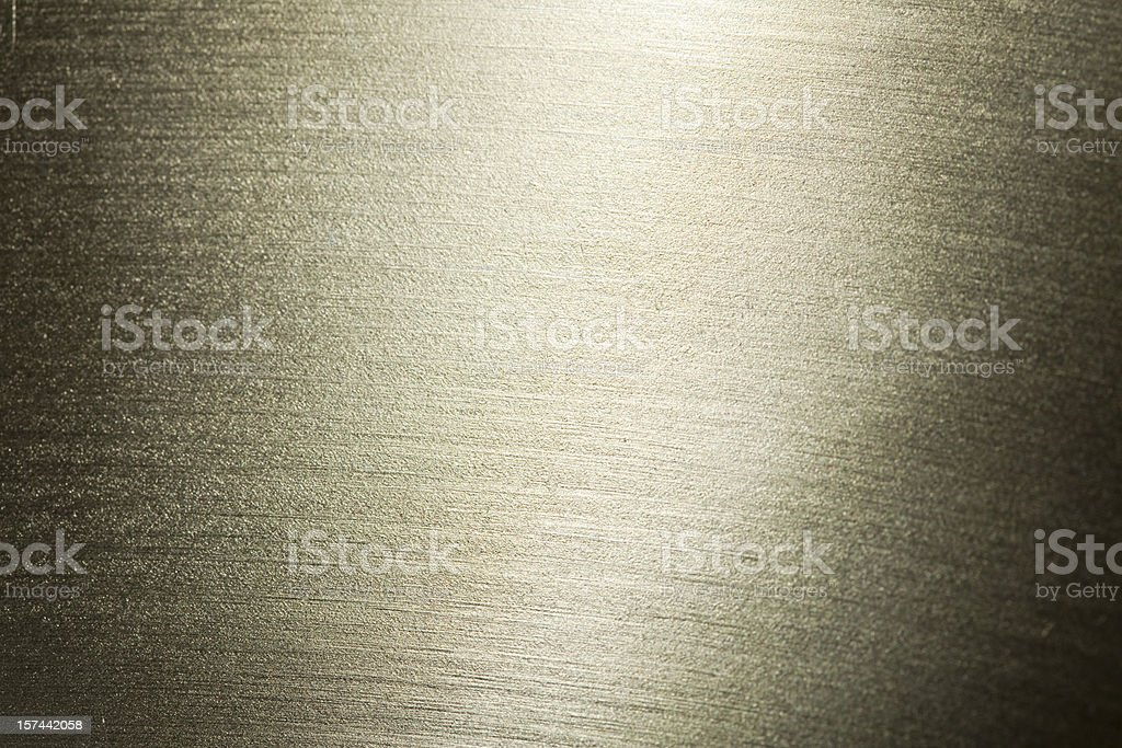 An up close picture of a metal texture royalty-free stock photo