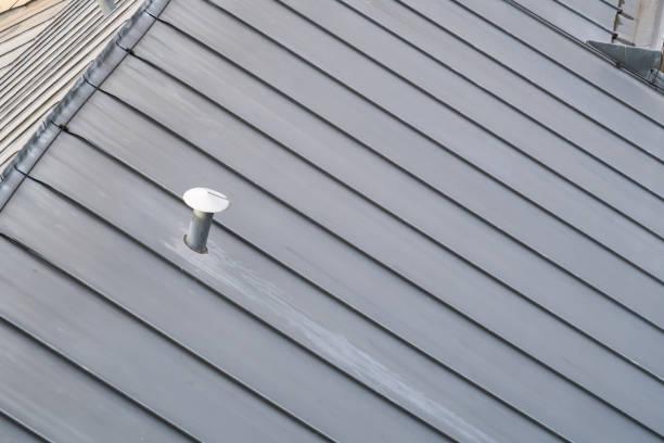 ein Zinkdach – Foto