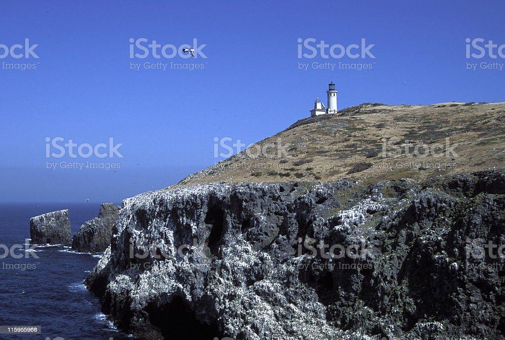 Anacapa Island, Channel Islands stock photo