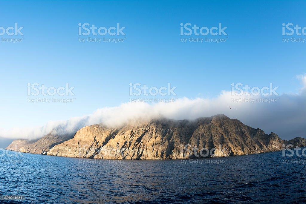 Anacapa Island stock photo