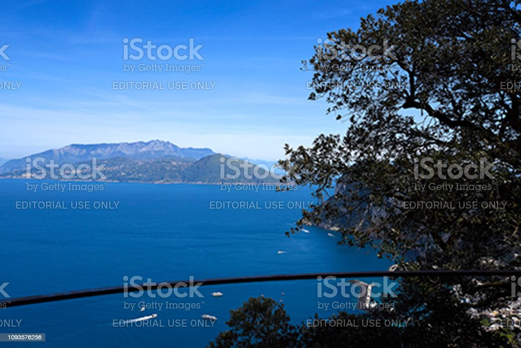 Anacapri Italy - foto stock