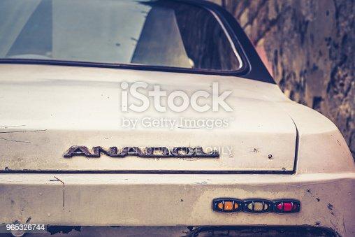 Anadol Car 1973 Was Turkeys First Domestic Mass Production Passenger Vehicle - Stockowe zdjęcia i więcej obrazów Antyczny