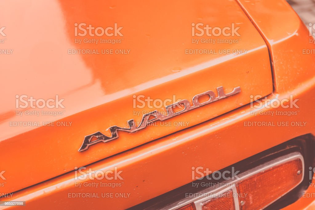 Anadol car 1973 was Turkey's first domestic mass production passenger vehicle royalty-free stock photo