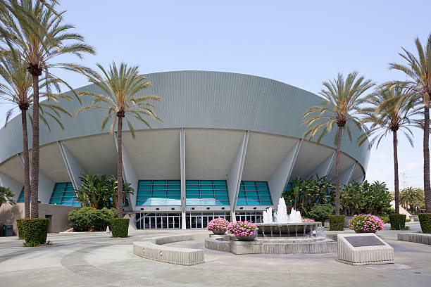 Anaheim Arena stock photo