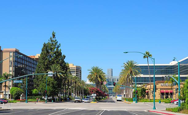 Anaheim Convention Center Area stock photo