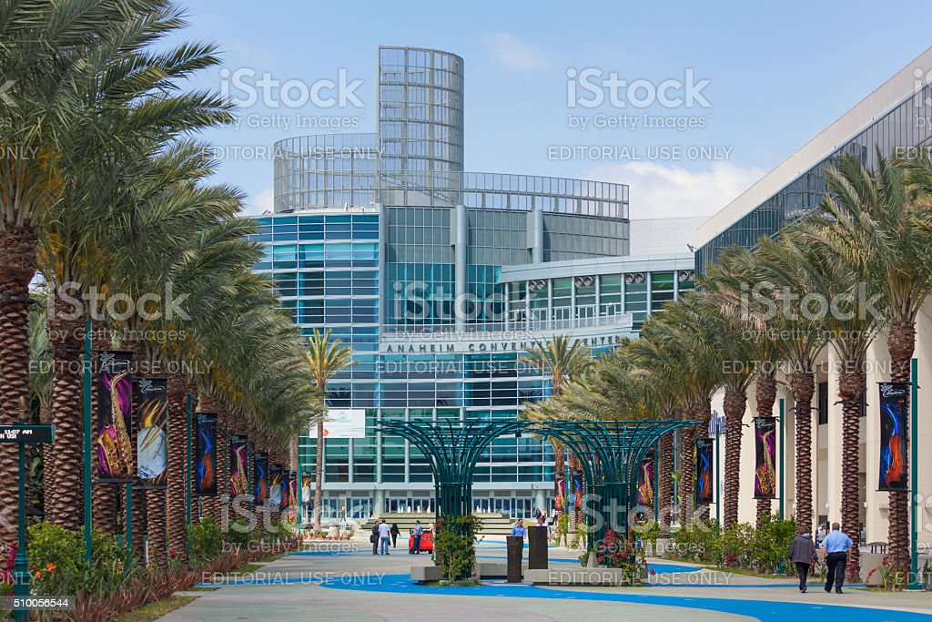Anaheim Convention Center stock photo