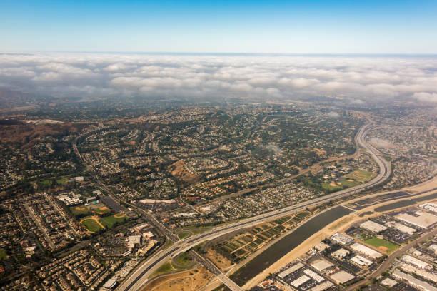 Anaheim Hills - County of Orange stock photo