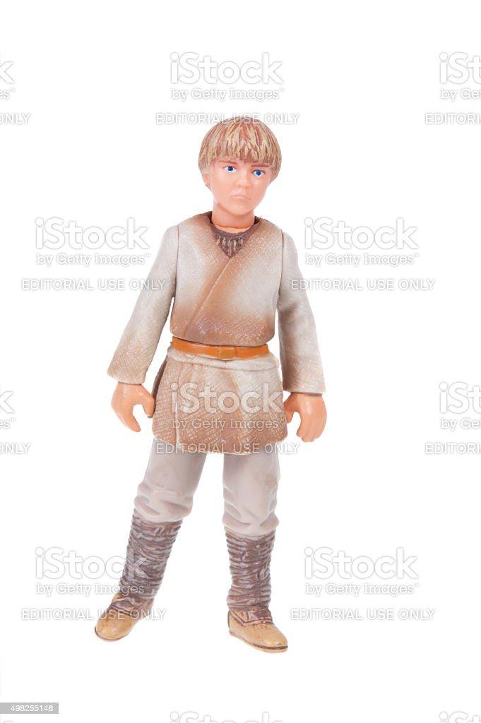 Anakin Skywalker Action Figure - 免版稅2015年圖庫照片