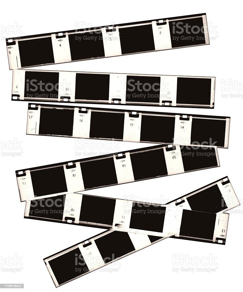 Analog Film Borders royalty-free stock photo