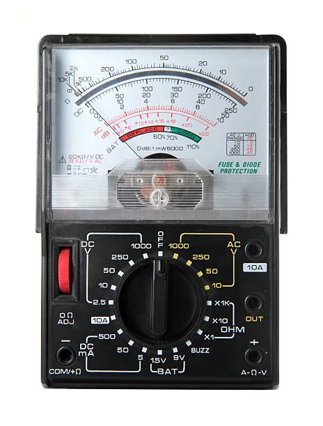 Analog Multimeter stock photo