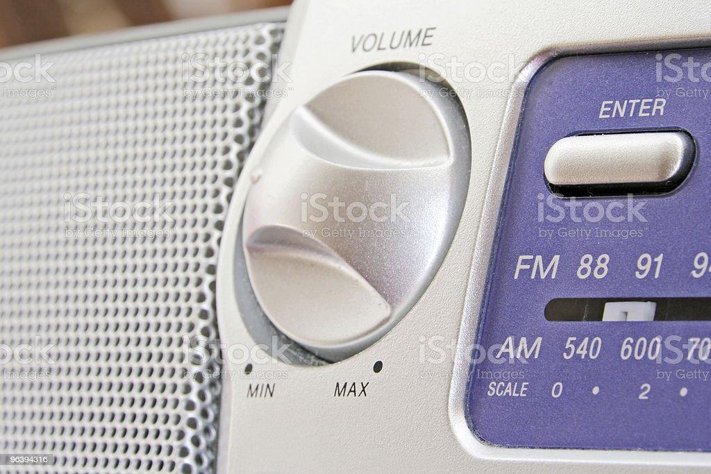 Analog Radio Detail - Royalty-free Audio Equipment Stock Photo