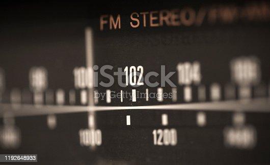 istock Analog Radio 1192648933