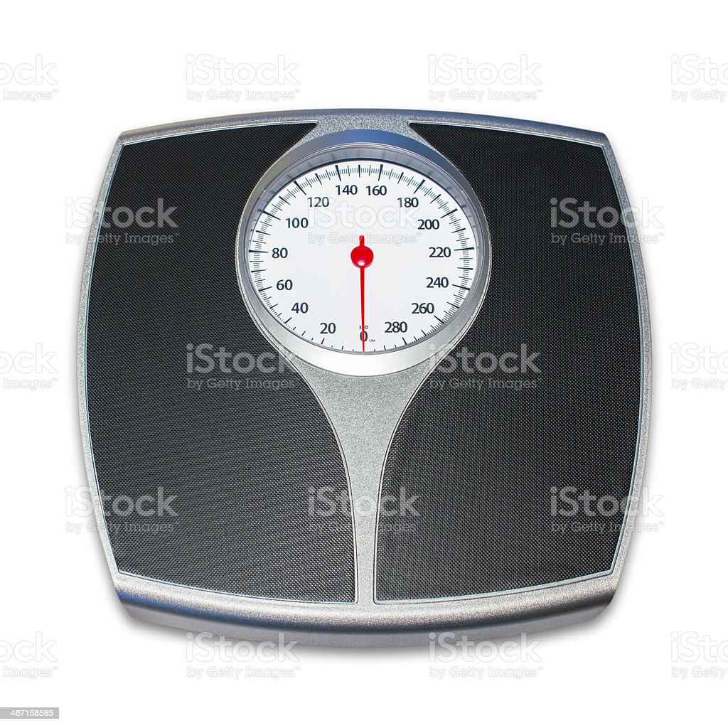 Analog Scale stock photo
