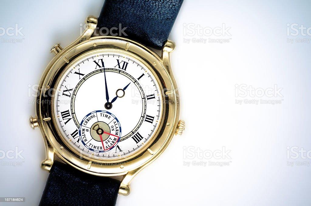 Analog Wrist Watch royalty-free stock photo