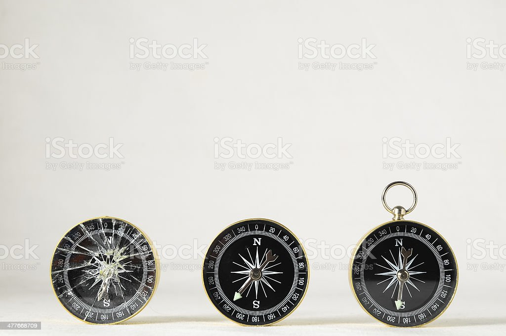 Analogic Compass royalty-free stock photo