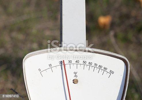 istock Analogue Percent Measure 516397410