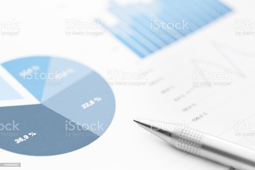 Analysing royalty-free stock photo