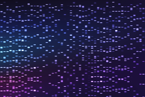 istock DNA analysis concept. Background of genome sequence. 845814068