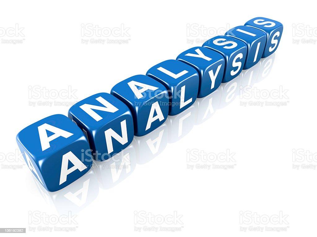 Analysis concept royalty-free stock photo
