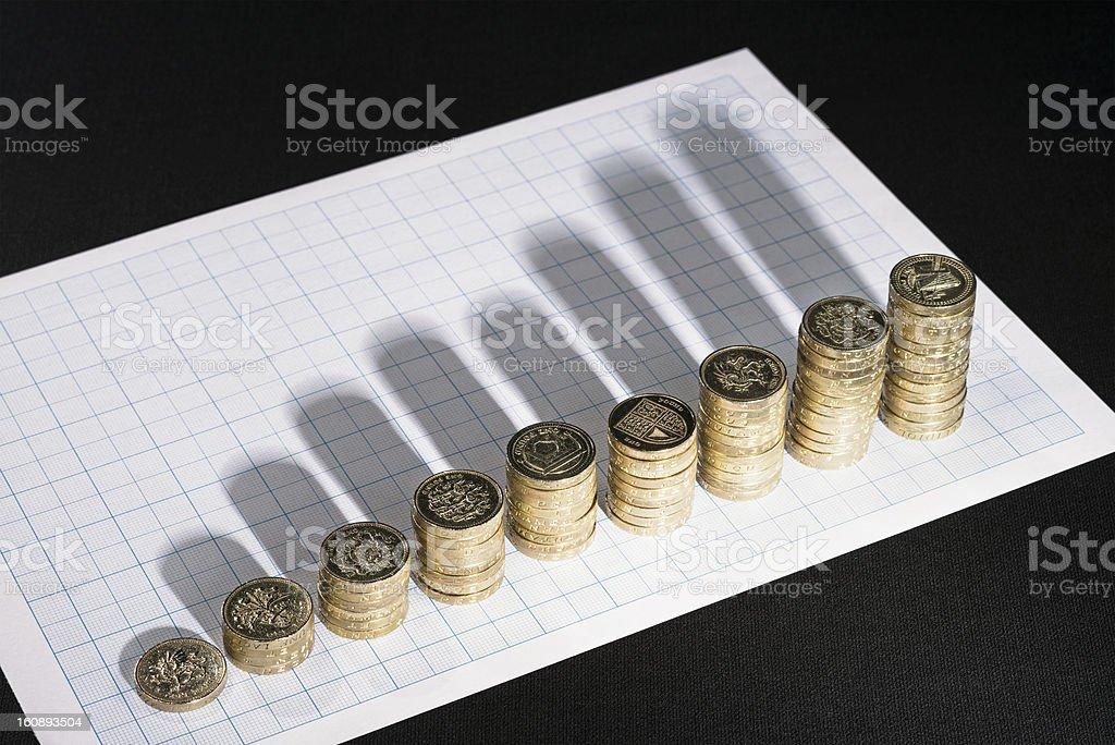 Analysis of Growth royalty-free stock photo