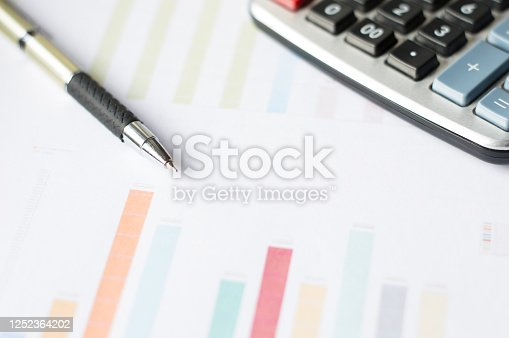 490632340 istock photo Analysis of the financial report. Business and finance concept 1252364202