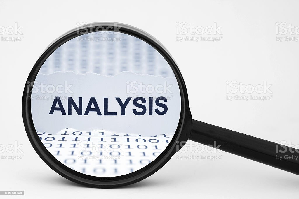 Analysis stock photo