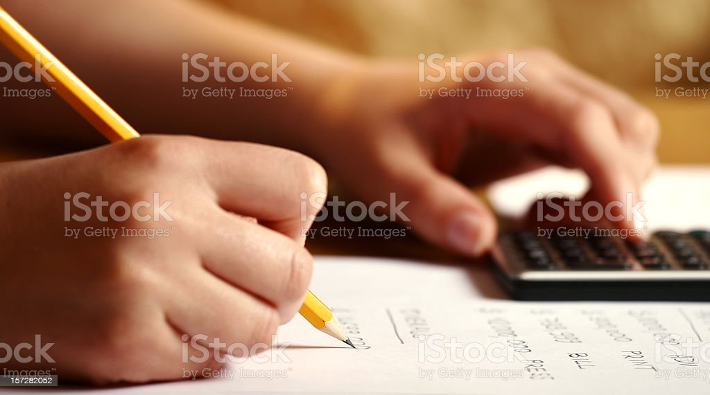 Analysis royalty-free stock photo