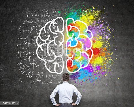 istock Analytical and creative thinking 542821212