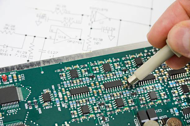 Fehlerbehebung elektronische Circuit – Foto